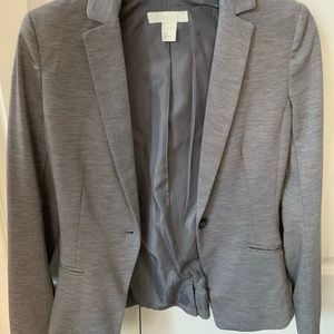 H&M Jackets & Coats - Grey fitted Blazer